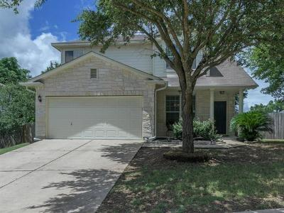 Round Rock Single Family Home For Sale: 2304 Valerian Trl