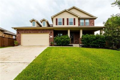 Round Rock Single Family Home For Sale: 4208 Woodhaven Trl