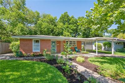 Austin Single Family Home For Sale: 1303 Ridgemont Dr
