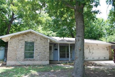 Austin Single Family Home Pending - Taking Backups: 823 Walnut Creek Dr