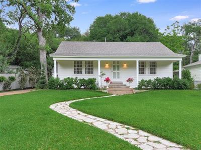 Travis County Single Family Home Pending - Taking Backups: 2610 Bridle Path