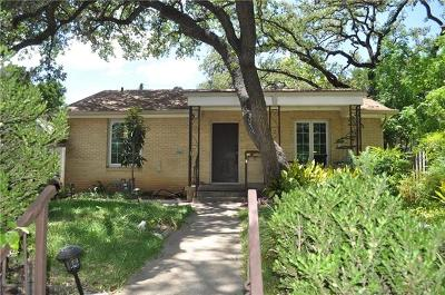 Austin TX Single Family Home Active Contingent: $499,900