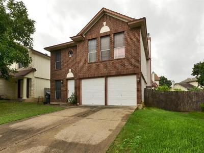 Pflugerville Single Family Home Pending - Taking Backups: 809 Crieff Cross Dr