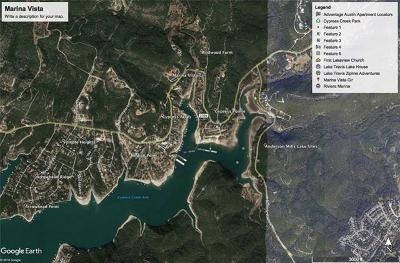 Leander Residential Lots & Land For Sale: lot # 7 Marina Vista Cir