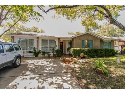 Hays County, Travis County, Williamson County Single Family Home For Sale: 5006 Merritt Dr