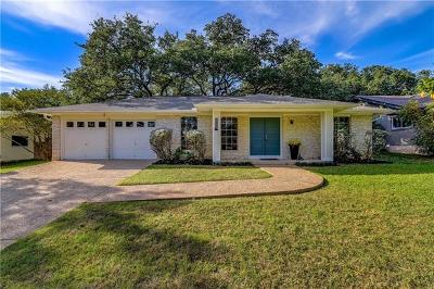 Travis County Single Family Home Pending - Taking Backups: 11512 Oak View Dr