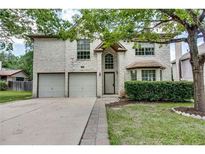 Austin Single Family Home Pending - Taking Backups: 5900 Brown Rock Trl