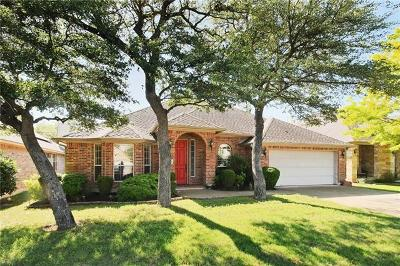 Hays County, Travis County, Williamson County Single Family Home Pending - Taking Backups: 5613 Fort Benton Dr