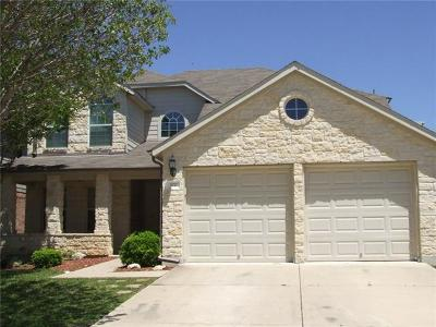 Leander Single Family Home For Sale: 320 King Elder Ln