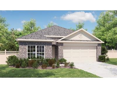 Round Rock Single Family Home For Sale: 2000 Birkby Ct