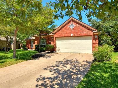 Cedar Park Single Family Home Pending - Taking Backups: 2701 Dagama Ct