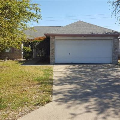 Leander Single Family Home Pending - Taking Backups: 1904 Southcreek Dr