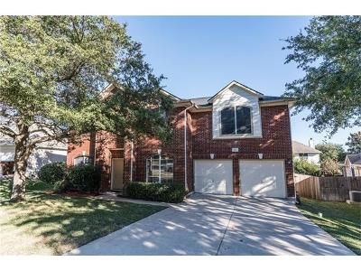 Round Rock Single Family Home For Sale: 3711 Birdhouse Dr