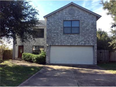 Round Rock Single Family Home For Sale: 3211 Elizabeth Anne Ln