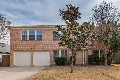 Cedar Park Single Family Home For Sale: 1702 Lion Heart Dr