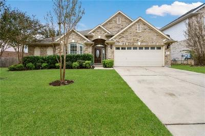 Round Rock Single Family Home Pending - Taking Backups: 3100 Asombra Ln