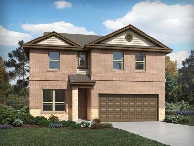 Manor Single Family Home For Sale: 13803 Rosebud Isle