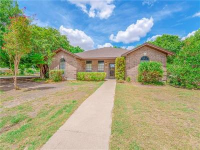 Taylor Single Family Home For Sale: 1410 Stone Ridge Dr