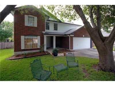 Cedar Park Single Family Home For Sale: 1606 Courtney Ln