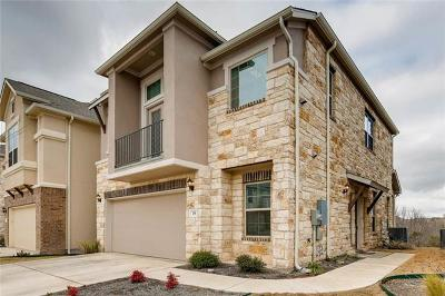 Round Rock Condo/Townhouse For Sale: 2105 Town Centre Dr #19