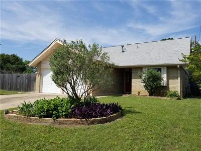 Austin Single Family Home For Sale: 8100 Nottaway Cv