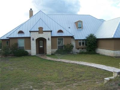 Hays County Single Family Home For Sale: 11900 Fm 2325