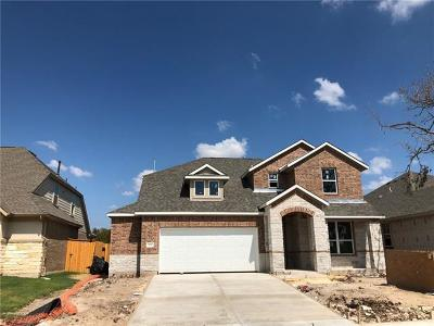 Round Rock Single Family Home For Sale: 4476 Arques Ave