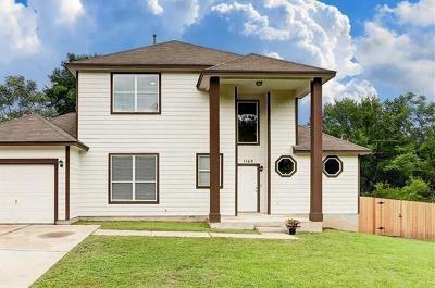 Austin Single Family Home For Sale: 1149 Lott Ave