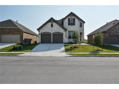 Round Rock Single Family Home For Sale: 6857 Leonardo Dr