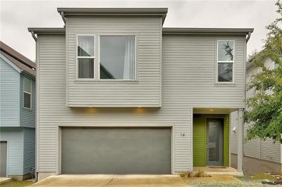 Austin Single Family Home Pending - Taking Backups: 3001 Del Curto Rd #14