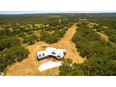 Dripping Springs Single Family Home For Sale: 1521 Walker Ranch Rd