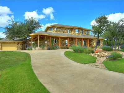 Spicewood Single Family Home For Sale: 3904 Bee Creek Rd
