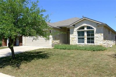 Leander Single Family Home For Sale: 1108 Whitley Dr
