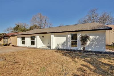 Austin Single Family Home For Sale: 2518 Cockburn Dr