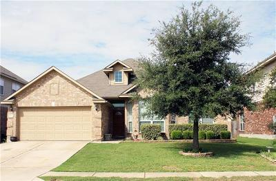 Hutto TX Single Family Home For Sale: $245,000