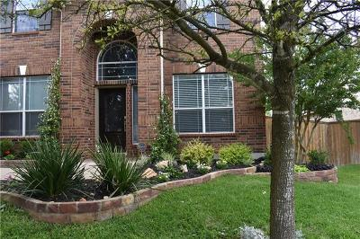 Round Rock TX Single Family Home For Sale: $350,000