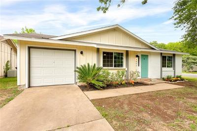 Hays County, Travis County, Williamson County Single Family Home For Sale: 4802 Brassiewood Dr