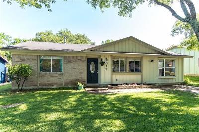 Austin Single Family Home Pending - Taking Backups: 614 Hyde Park Pl