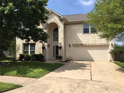 Pflugerville Single Family Home For Sale: 20016 Crane Creek Loop