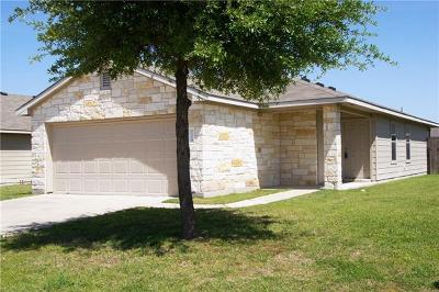 Hutto Single Family Home Pending - Taking Backups: 229 Foxglove Dr