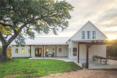 Dripping Springs Single Family Home For Sale: 1011 Oak Cir