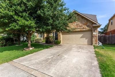 Round Rock Single Family Home For Sale: 2828 Stonecreek Pl
