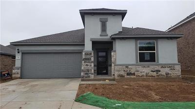 Leander Single Family Home For Sale: 736 American Trail