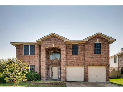 Round Rock Single Family Home For Sale: 1501 Lorson Loop