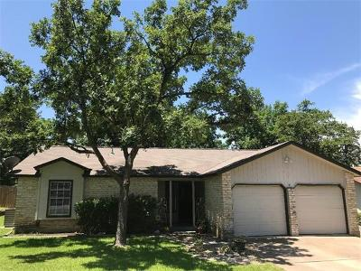 Round Rock Single Family Home For Sale: 2304 Silver Spur