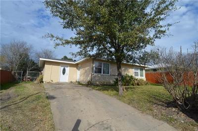 Austin Single Family Home Pending - Taking Backups: 4602 Little Hill Cir