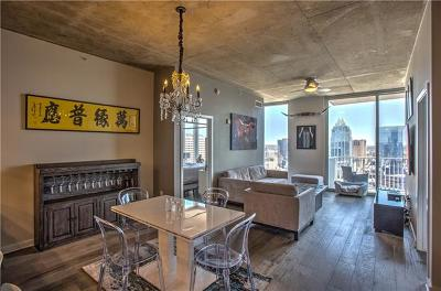 Condo/Townhouse Pending - Taking Backups: 360 Nueces St #2809