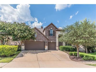 Round Rock Single Family Home For Sale: 4540 Wandering Vine Trl