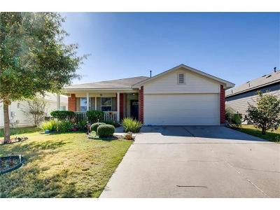 Hutto Single Family Home Pending - Taking Backups: 313 Pentire Way