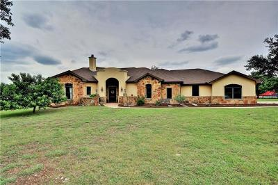 Leander TX Single Family Home For Sale: $1,100,000